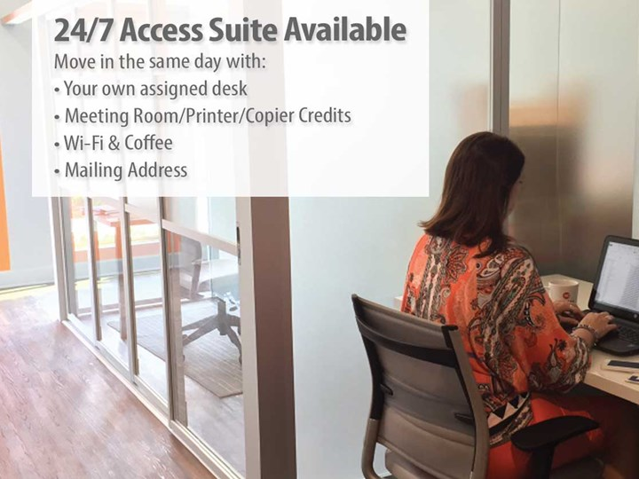 24/7 Access Desks available in WINDERMERE, FL •  HORIZON WEST AREA - on shore of Lake Speer in Windermere, FL